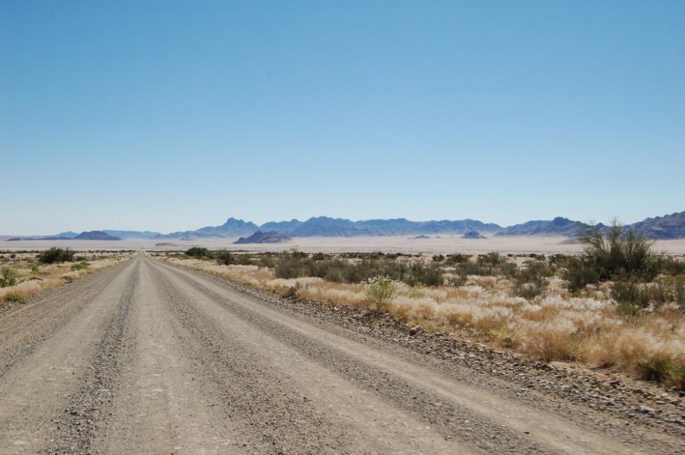 Belle piste Namibie