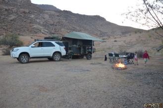 Feu de camp, Afrique du Sud